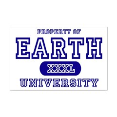 Earth University Property Posters