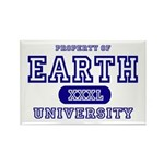 Earth University Property Rectangle Magnet