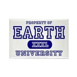Earth University Property Rectangle Magnet (10 pac