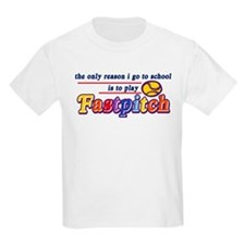 Fastpitch Go To School T-Shirt