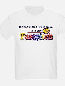 Fastpitch Go To School T-Shirt