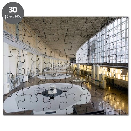 Hydroelectric power station turbine room - Puzzle