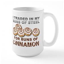 Buns of Cinnamon Funny T-Shirt Mug