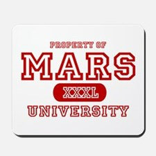 Mars University Property Mousepad