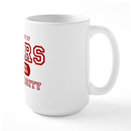 Mars University Property Large Mug