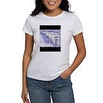Skull B&W Women's T-Shirt