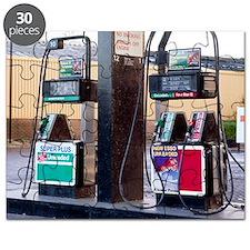 Petrol pumps - Puzzle