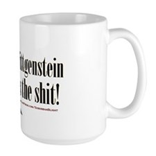 Wittgenstein is the Shit bevmug.png Mug