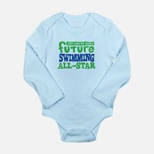 Future Swimming All Star Boy Long Sleeve Infant Bo