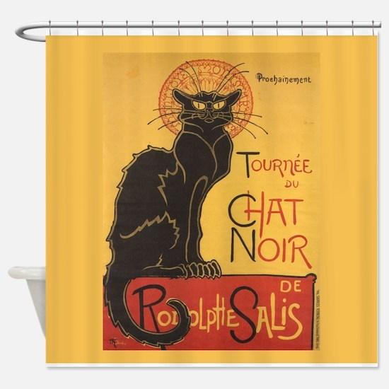 Steinlen Cat Shower Curtain