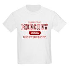 Mercury University Property Kids T-Shirt