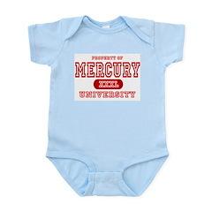 Mercury University Property Infant Bodysuit