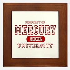 Mercury University Property Framed Tile