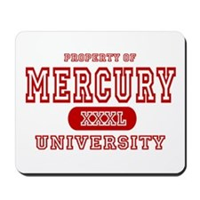 Mercury University Property Mousepad