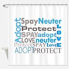 Vet tech C.PNG Shower Curtain