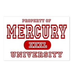 Mercury University Property Postcards (Package of