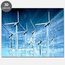 Wind turbines - Puzzle