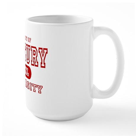 Mercury University Property Large Mug