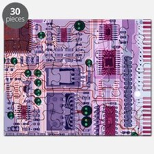 X-ray of sound card - Puzzle