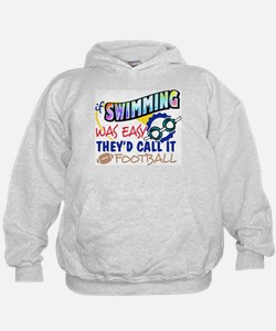 Swimming Was Easy Hoodie