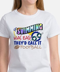 Swimming Was Easy Tee