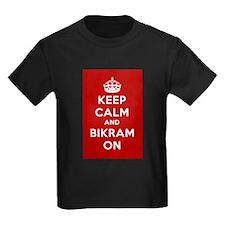 Keep Calm and Bikram On T