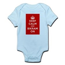Keep Calm and Bikram On Infant Bodysuit