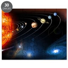 Solar system planets - Puzzle