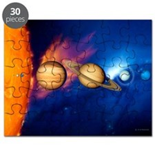Sun and its planets - Puzzle