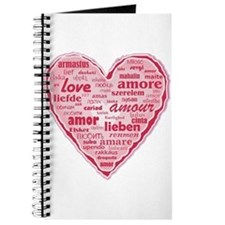 Multilingual Love Journal