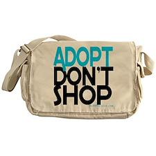 Adopt Dont Shop Messenger Bag