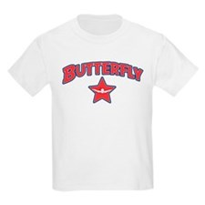 Swimming Butterfly T-Shirt