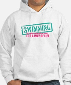 Swim is a way of Life Hoodie