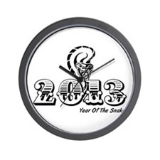 Year of the Snake 2013 Wall Clock