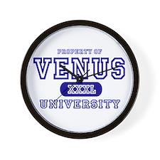 Venus University Property Wall Clock