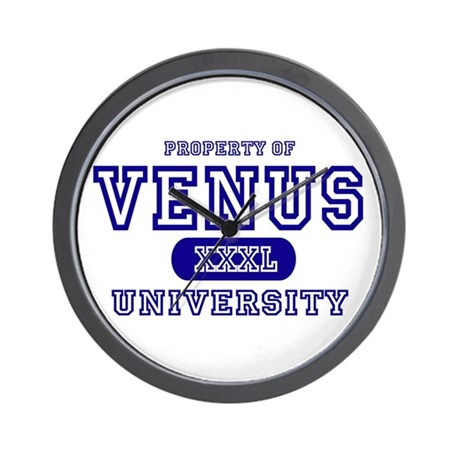 Venus University Property Wall Clock