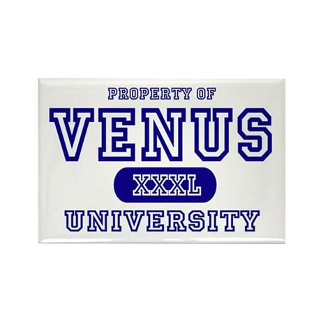 Venus University Property Rectangle Magnet (10 pac