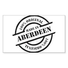 Made in Aberdeen Decal