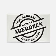 Made in Aberdeen Rectangle Magnet
