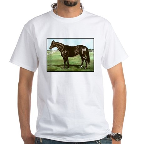 "Thoroughbred ""Bold Ruler"" White T-Shirt"