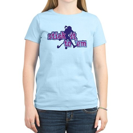 Field Hockey Stick It Women's Light T-Shirt
