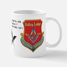 Valley Lodge Shield red Mug