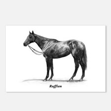 """Thoroughbred """"Ruffian"""" Postcards (Package of 8)"""