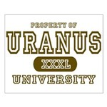 Uranus University Property Small Poster