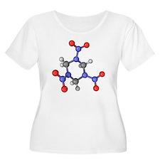 RDX explosive molecule - T-Shirt