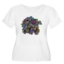 Ribosomal subunit, molecular model - T-Shirt