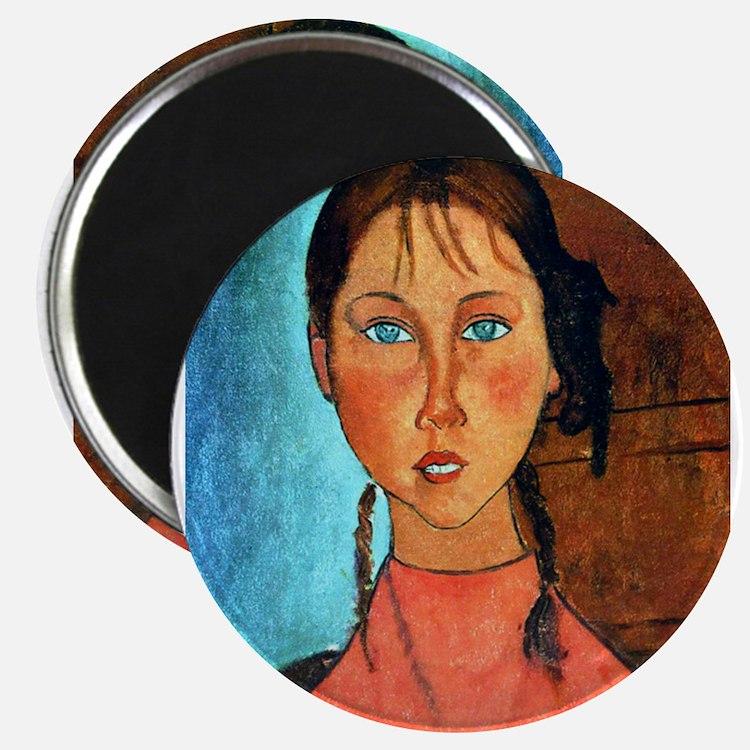 """Cute Fine art 2.25"""" Magnet (10 pack)"""