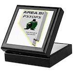 Area 51 Psyops Keepsake Box