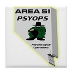 Area 51 Psyops Tile Coaster