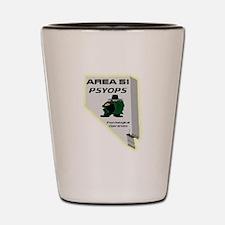 Area 51 Psyops Shot Glass